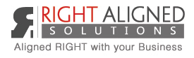 Right Aligned Solutions